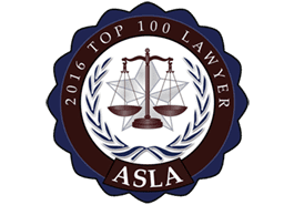 2016 Top 100 Lawyers - ASLA